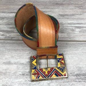 Vintage western belt